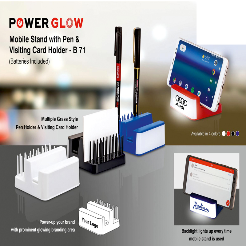 Mobile Stand With Pen And..