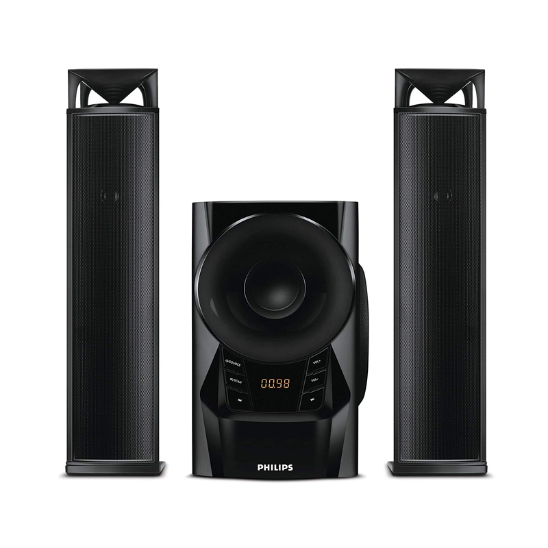 Philips 2.1 Convertible Speakers MMS2160B/94