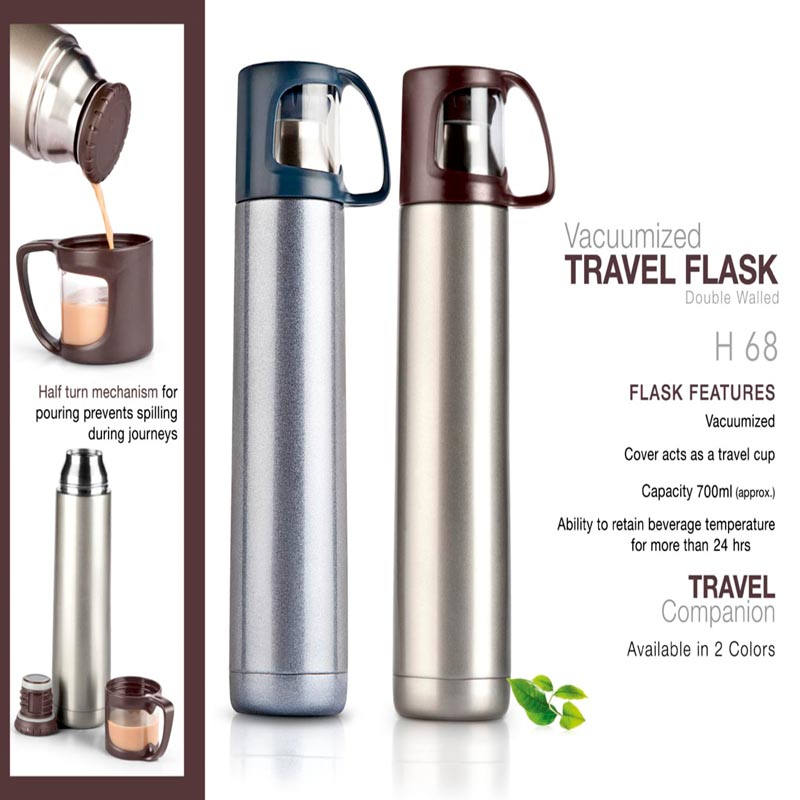 Vacuumized Travel Flask -..