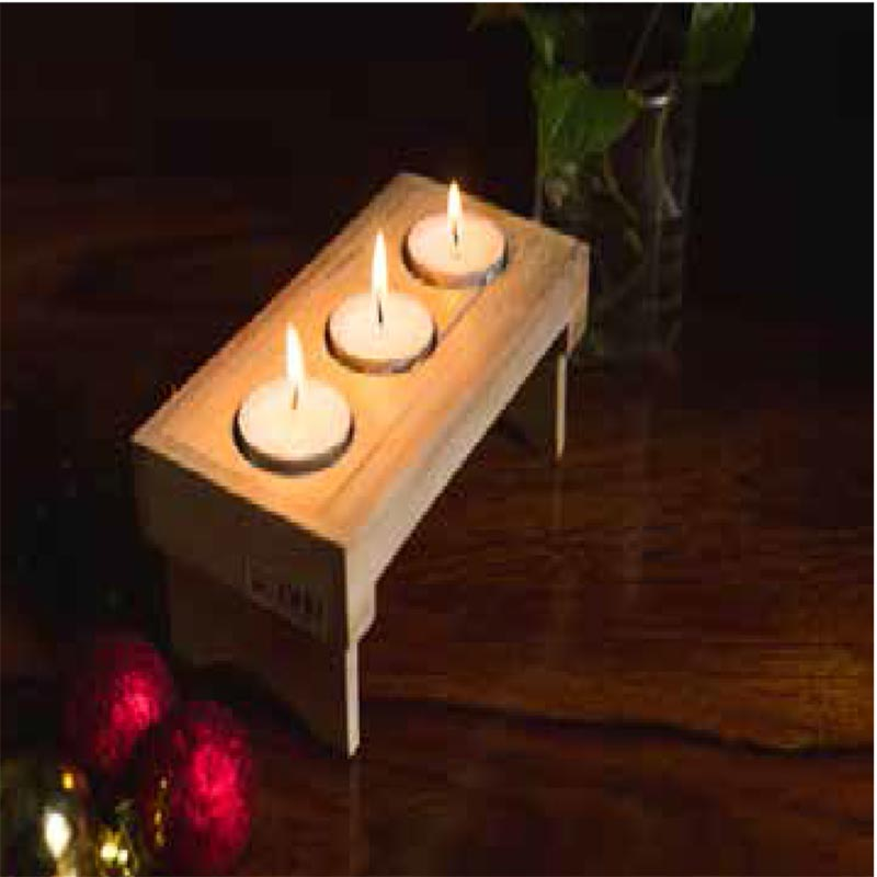 Candles - Folding Table