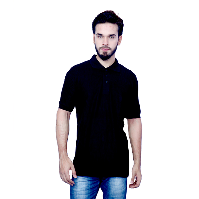 Moglies Black Cotton T-sh..