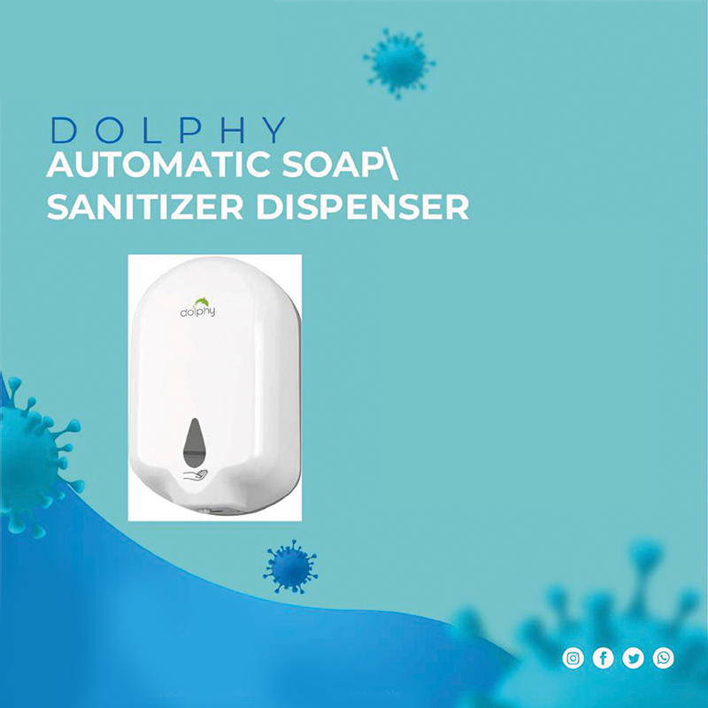 Dolphy Automatic Soap/San