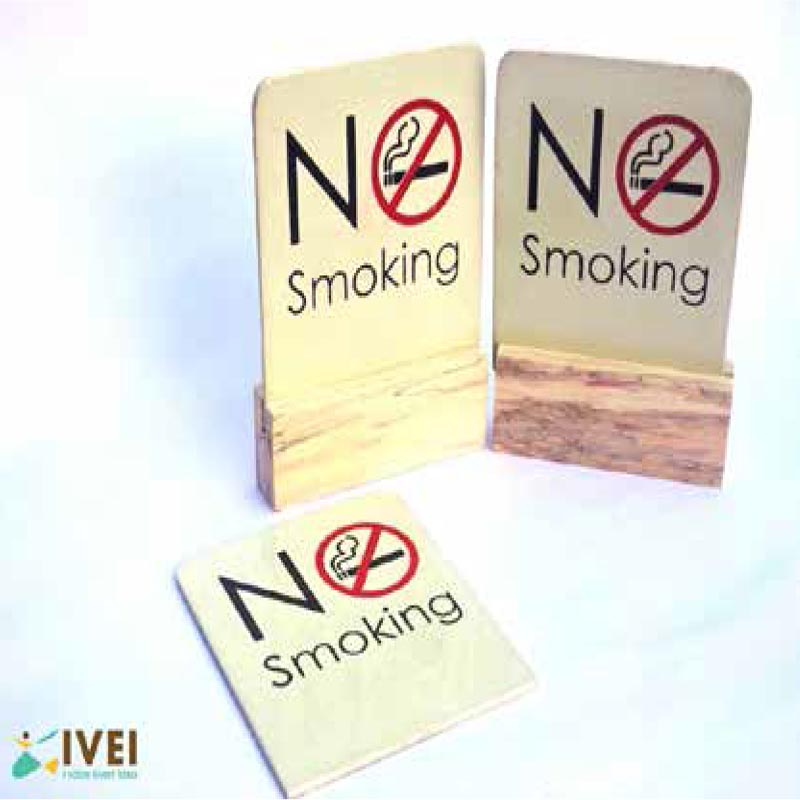 Table Top Signs(no smokin..