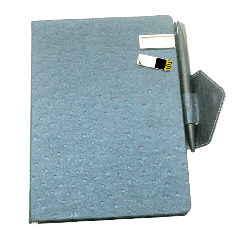 Diary with attached USB